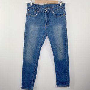 Levi's 511 Slim Fit Throttle Blue Stretch Jeans 33